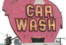 Contactless car wash /  Contactless car wash