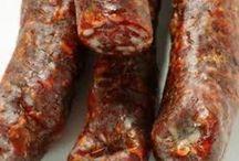 Deer sausage