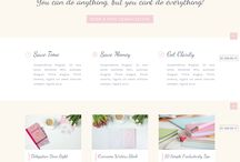 DIVI—Feminine WordPress Divi Child Themes / Feminine WordPress Child Themes built with Elegant Themes' Divi Framework.