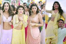 Pastel brides - bridal lehenga colour favourites