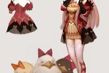 Summoner - Female - Anime