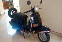 scooterclassic / Motocicletas estilo scooter clásico como lambrettas, vespas, bajaj chetak y otras.