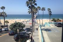 Manhattan Beach / A upscale beach destination with some great surfing, dining, roller blading, biking and volleyball.