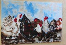 eigen werk schilderijen