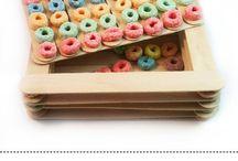 Monica's Fruit Loop Board