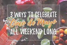 Cinco De Mayo Recipes / Mexican inspired recipes with a healthy twist!