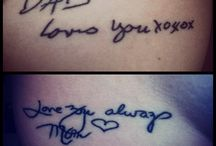 Tattoo Love / by Nicole Schubert