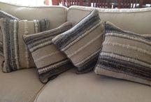 cojines de lana