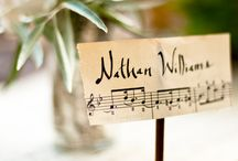 Music Themed Wedding / by Mandy Hess