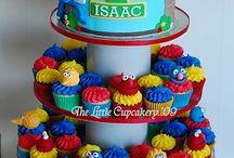 Seasame Street Birthday Ideas / Jaegar's 1st Birthday (Maybe)