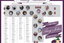 WEDDING: Seating Chart, Map / by cbt307