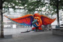 arte callejero / cualquier tipo de arte en la calle