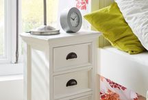 Bedside Cabinets / For all of your bedside essentials, these cabinets are a dream. With a variety of cabinets available - from solid oak to painted white, drawers and standing compartments, fashionably distressed cream or industrial chic - we have the ideal solution for your bedroom. http://www.hampshirefurniture.co.uk/furniture-type/bedside-cabinets