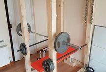 gym equipment idea's