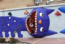 Public art / urban art / Community or public art