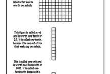 Nombres décimaux 2e cycle / by Math Primaire