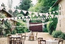 wedding decorations garden and deck / by PaoYi Tan