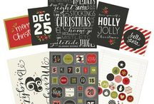 DIY Christmas / DIY Christmas with Design it Yourself greeting cards, journaling elements, gift tags, pockets, treat bags, home decor & so much more - it's your 'go to' holiday crafting collection this season!!