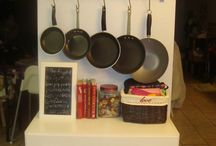 Kitchen Decorating & Storage Ideas / Ideas for organizing a kitchen with style---especially for small kitchens.