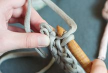 Crochet / Our crochet courses will teach you a fantastic range of skills. Learn the basics of chains, slip stitches, single crochet, double stitch and the logic of mixing knots.