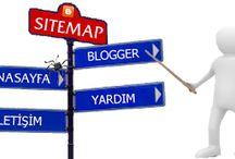 Blogger Sitemap sayfası oluşturma / Web sitelerinde olduğu gibi blogunuzun bir sitemap sayfası olsun istemezmisiniz?Sitemap bir web sitesinin haritasıdır.Arama motorlarının web sitelerini hızlı, daha çabuk ve tam olarak indexlemesi için oluşturulurlar.Bu eklenti sayesinde blogunuzda , sidebar kısmında yada blogunuzun istediğiniz bir yerinde kullanabileceğiniz bir sitemapınız olacak.
