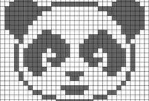panda motif