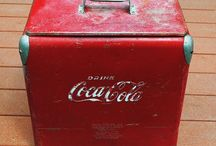Home / Any ideas on decorating a vintage coke cooler?