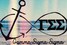 Gamma Sig! / by Rachel Reeves