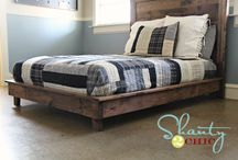 Bed Frame / by Berry Blanton
