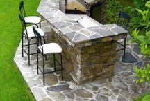 Outdoor kitchen / by Carrie Carter