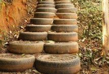 Upcycled: Old Tires
