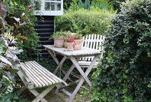 Garden inspiration / Des jardins plein de charme