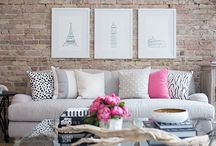 Salas lindas de viver/living rooms / Decoração de salas