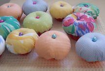 Pincushions / Μαξιλαράκια για καρφίτσες
