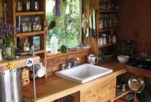kuchyně chata