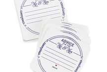 Drink Coasters / Drink coasters for parties and weddings are a fun and practical item. Drink coasters are available in a variety of fun styles and themes.