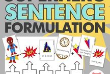 Sentence formation