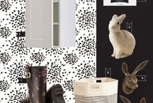 Style Boards | Laundry Room / Inspiration for decorating a laundry room.  :)