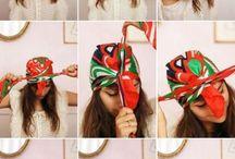 Tutoriel nouage de bandeaux & turbans