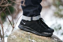 "Nike Free Flyknit NSW ""Triple Black"" (599459-005)"