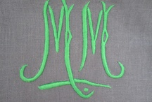 m is for moi / M monograms
