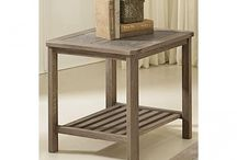 End Tables / End Tables are great for placing on sides of sofas, loveseats, chairs, etc. They create space for lamps, decor, pictures, and so much more. They can make a room feel complete.