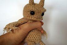 Crotcheting & knitting Fantasy figures