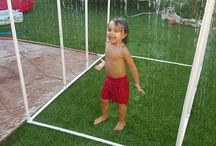Garden shower for kids