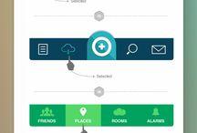 Menu web & Mobile