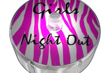 Girls Night Out Party Dot Designs