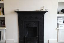 Victorian Fire side Hearth