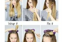 hår og sminke