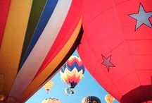 Hot Air Balloons Art Posters