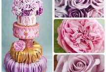 Lilac and roses
